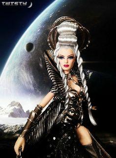 Goddess of the Galaxy Barbie