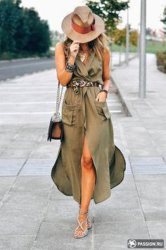 Вопрос 21. Платья-рубашки, талия подчеркнутая