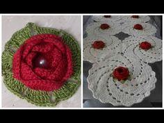 Crochet Flower Tutorial, Crochet Diy, Crochet Flower Patterns, Crochet Motif, Irish Crochet, Crochet Crafts, Crochet Doilies, Crochet Flowers, Crochet Projects