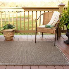 Suffolk Horizon Chocolate Ultra Durable Braided Rugs Patio Lounge Chairs, Outdoor Chairs, Outdoor Furniture, Outdoor Decor, Front Porch Makeover, Braided Rugs, Indoor Outdoor Rugs, Rugs Online, Porch Swing