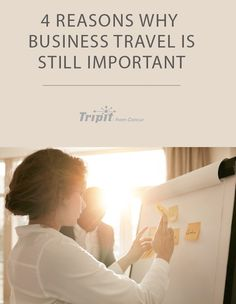 Despite how easy technology makes it to connect, business travel is still important. Here are four reasons why. Travel News, Travel Guides, Tokyo Shopping, Working Holidays, Travel Information, Cheap Travel, Business Travel, Thailand Travel, Family Travel