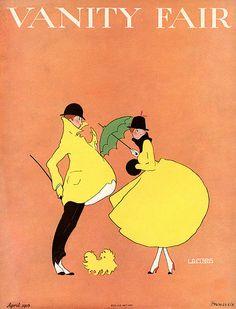 vintage Vanity Fair cover