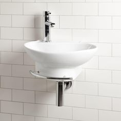 Astra Wall Mount Sink With Towel Bar