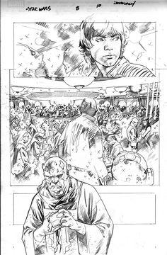 Open Stuart Immonen's Star Wars Sketchbook, Part 2 | StarWars.com