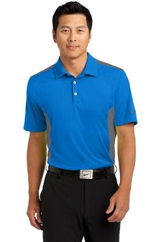 612630758 Corporate Shirts, Mens Golf Outfit, Grey Nikes, Golf Apparel, Nike Dri Fit