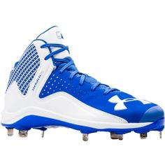 Under Armour Men's Yard Mid ST Baseball Cleat - Dick's Sporting Goods Softball Cleats, Under Armour Men, Sports Shoes, High Tops, Sneakers Nike, Yard, Nike Tennis, Patio, Courtyards