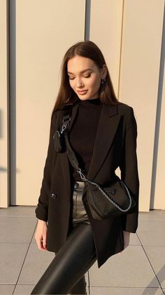 Casual Winter Outfits, Winter Fashion Outfits, Classy Outfits, Look Fashion, Stylish Outfits, Fall Outfits, Autumn Fashion, Classy Fashion, Modern Fashion