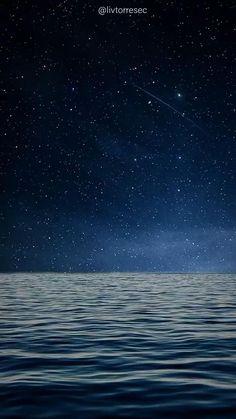 LIVE WALLPAPER | SEA |  LANDSCAPE | RELAX | TIKTOK | By @livtorresec [Video] | Night sky wallpaper, Iphone wallpaper sky, Iphone wallpaper night