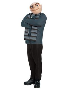 Gru Despicable Me Costume | Adults Mens Despicable Me #Halloween Costumes