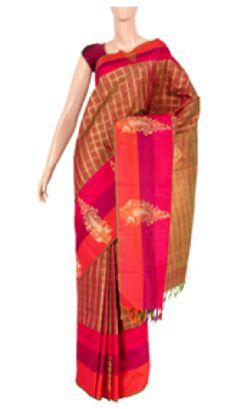Kanchi Pure Zari Pure Silk Product Code: 644037 Price - INR 21315
