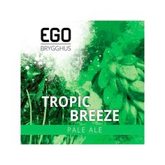 Tropic Breeze bryggesett fra EGO Breeze, Ale, Tropical, Movies, Movie Posters, Films, Ale Beer, Film Poster, Cinema