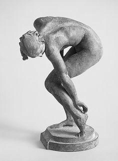 sashastergiou:  Scratching Her Heel  Alexander Stirling Calder (1870–1945 Philadelphia, Pennsylvania)