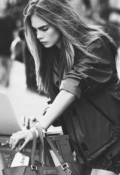 Cara Delevingne is so cute.