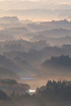 Magical Morning Light, Ibaraki Japan