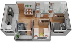 Sims House Design, Small House Design, Future House, My House, Sims House Plans, Home Design Plans, Diy Dollhouse, Sweet Home, Floor Plans