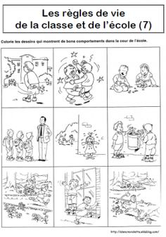 1000 images about comportement on pinterest organisation bonheur and cycle 3 - Regles de vie a la maison ...