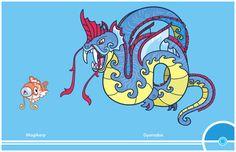 Pokemon Redesign #129-130 - Magikarp, Gyarados