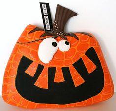 Halloween  Pumpkin named Jasper by buttuglee on Etsy