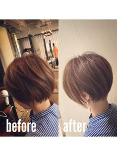 Pin on ヘアスタイル Asian Short Hair, Short Hair Cuts, Short Hair Styles, Short Bob Haircuts, Cute Hairstyles For Short Hair, One Hair, Hair Shows, Tips Belleza, Great Hair