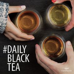 What is your favorite black tea? Share Instagram with a photo of your daily black tea and join communiTEA!