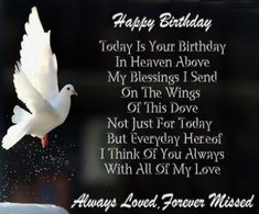 Sad Happy Birthday In Heaven Images For You. Father & Mother Happy Birthday In Heaven Images To Wishes Them. Celebrated With Happy Birthday In Heaven Images. Birthday Wishes In Heaven, Today Is Your Birthday, Birthday Wishes Greetings, Birthday Poems, Birthday Angel, Birthday Cards, Birthday Message, Birthday Images, Dad In Heaven Quotes