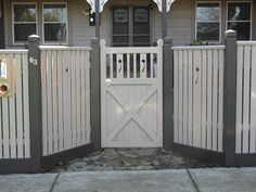 ... Modern Picket Fence Designs With Picket Fence Design Ideas Is A Part Of Picket Fence Designs ...