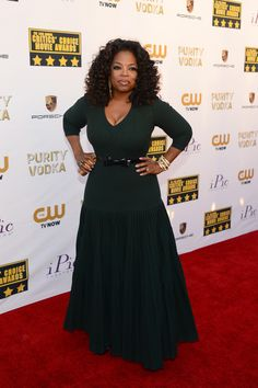 Oprah Winfrey (I think this is the best she has looked in ages. The Alaia is working.)