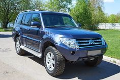 Силовой передний бампер Pajero IV Mitsubishi Shogun, Mitsubishi Pajero, Pajero Full, Land Rovers, Offroad, Jeep, Camper, Wheels, Passion