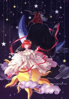 † Chise & Elias - Mahoutsukai No Yome † Got Anime, Anime Art, Sailor Moon, Elias Ainsworth, Chise Hatori, The Ancient Magus Bride, Otaku, Couple Illustration, Fan Art