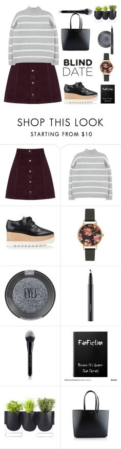 """""""Another blind date.."""" by gul07 ❤ liked on Polyvore featuring Oasis, STELLA McCARTNEY, Olivia Burton, Topshop, MAC Cosmetics, Marc Jacobs, Authentics, Yves Saint Laurent, women's clothing and women"""