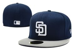 MLB San Diego Padres 59Fifty Hats Retro Classic Pop Caps Navy 019|only US$8.90