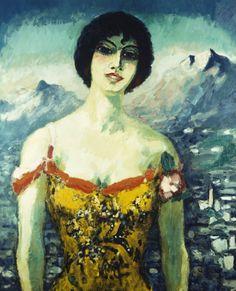 Mallorcan Woman by Kees Van Dongen (Dutch 1877-1968)