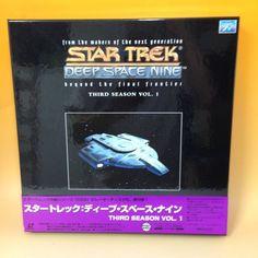 Star Trek Deep Space 9: 3rd Season vol.1 LaserDisc LD PILF-2440 NTSC OBI JP B056