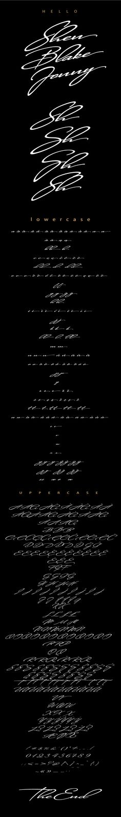 Shen - #Fonts