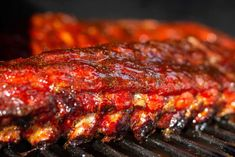 If you like barbecue you're gonna love these Smoked Honey Garlic Ribs. They're smoked low and slow and glazed with a sauce you have to try Garlic Ribs Recipe, Honey Garlic Ribs, Honey Garlic Sauce, Smoked Meat Recipes, Rib Recipes, Grilling Recipes, Cooking Recipes, Game Recipes, Traeger Recipes
