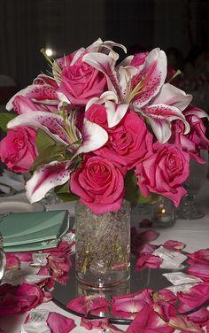 Pink Wedding Centerpieces | Cheap Wedding Centerpieces