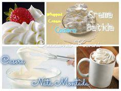 Cómo hacer crema batida a base de leche