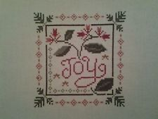 Completed  Finished Cross Stitch ~ CHRISTMAS~