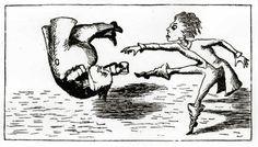 Lewis Carroll (Alice's Adventures in Wonderland - chapter 5)