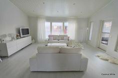 Coconut White: White Livingroom