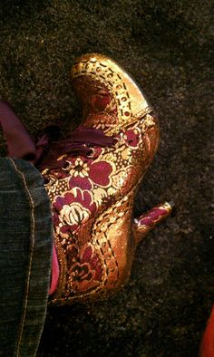 These were my first pair of Irregular Choice shoes. Not this exact pair, but an identical pair. So comfy.