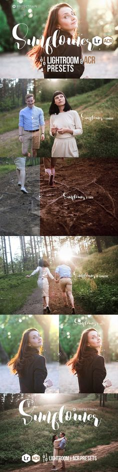 Sunflower Lightroom & ACR Presets by Presetrain Co. on @creativemarket