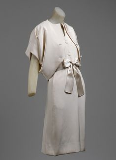 Dress ensemble, Balenciaga,1965–66