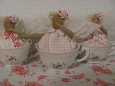 Tilda Teacup angels by Jocelyn in Budapest, via Flickr