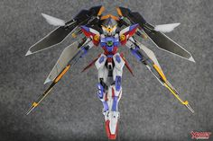 GUNDAM GUY: MG 1/100 Wing Gundam Proto Zero - Painted Build