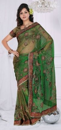 As for Ivy wearing clothes, I was thinking a sari like this.