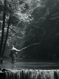 This picture was taken on a father-daughter fishing trip on a river in western Pennsylvania.