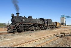 RailPictures.Net Photo: BCL LO 807 Untitled Steam 4-8-2 at Selebi Phikwe…