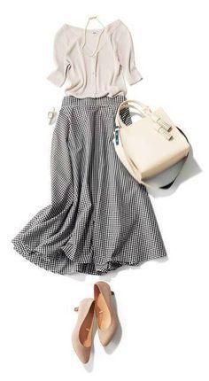 Long Skirt Outfits You will Love Girl Fashion Style, Fashion Mode, Work Fashion, Modest Fashion, Skirt Fashion, Fashion Looks, Fashion Outfits, Womens Fashion, Fashion Brands