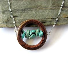 INSPIRED. This is the kind of earthy jewellery I'd love to create <3